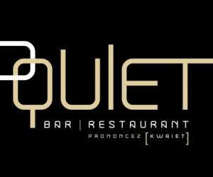 Quiet bar restaurant