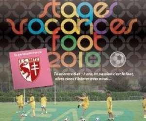 Stage vacances football