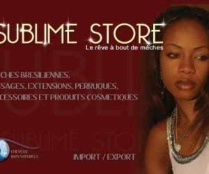Site internet sublime store