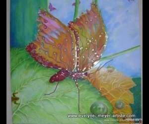 Evelyne meyer - artiste peintre - un monde de couleurs