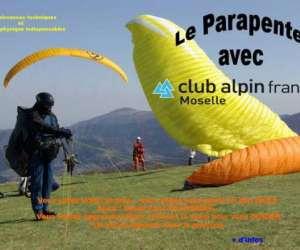 Parapente - club alpin français de moselle