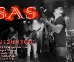 Concert du groupe sas