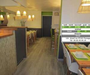 Restauration rapide, fast food tha�landais