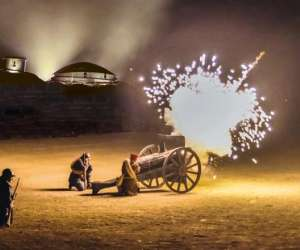 Des flammes � la lumi�re, spectacle verdun