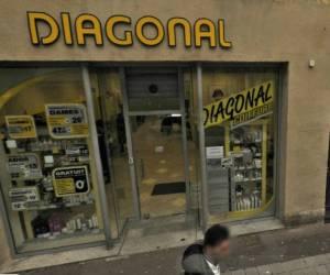 Diagonal metz